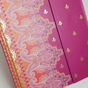 Pretty Pink Paisley Designed Notebook Journal